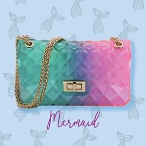 Mermaid Jelly Shoulder Bag